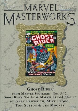 MARVEL MASTERWORKS GHOST RIDER VOLUME 1 DM VARIANT #281 EDITION HARDCOVER