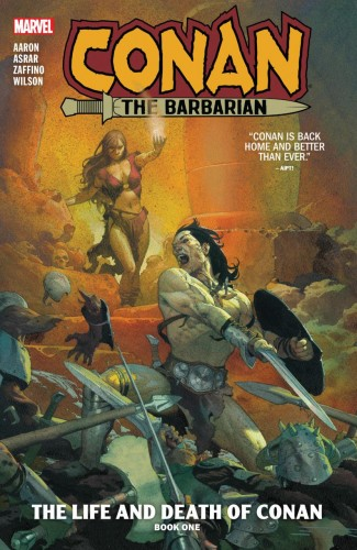 CONAN THE BARBARIAN VOLUME 1 THE LIFE AND DEATH OF CONAN BOOK ONE GRAPHIC NOVEL