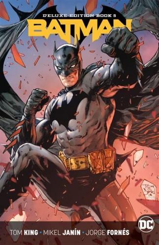 BATMAN REBIRTH DELUXE COLLECTION BOOK 5 HARDCOVER