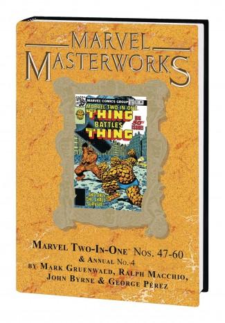 MARVEL MASTERWORKS MARVEL TWO IN ONE VOLUME 5 DM VARIANT #296 EDITION HARDCOVER