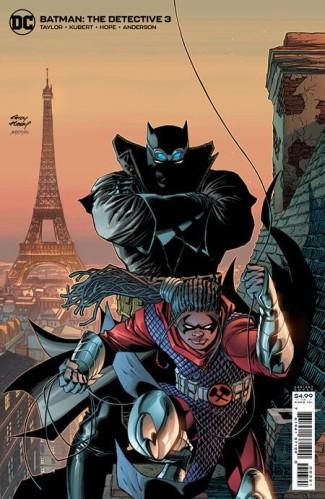 BATMAN THE DETECTIVE #3 ANDY KUBERT CARD STOCK VARIANT