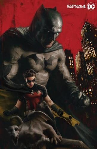 BATMAN URBAN LEGENDS #4 IRVIN RODRIGUEZ VARIANT