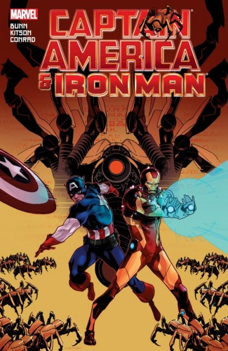 CAPTAIN AMERICA AND IRON MAN GRAPHIC NOVEL