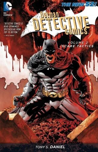 BATMAN DETECTIVE COMICS VOLUME 2 SCARE TACTICS GRAPHIC NOVEL
