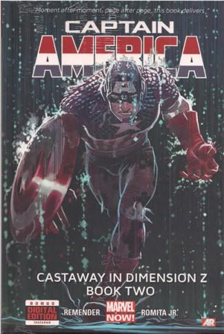 CAPTAIN AMERICA VOLUME 2 CASTAWAY IN DIMENSION Z BOOK 2 HARDCOVER