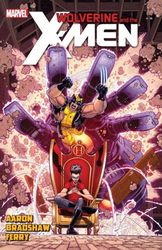WOLVERINE AND THE X-MEN BY JASON AARON VOLUME 7 GRAPHIC NOVEL