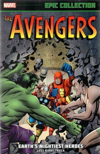 AVENGERS EPIC COLLECTION EARTHS MIGHTIEST HEROES GRAPHIC NOVEL