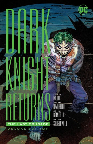 DARK KNIGHT RETURNS THE LAST CRUSADE DELUXE EDITION HARDCOVER