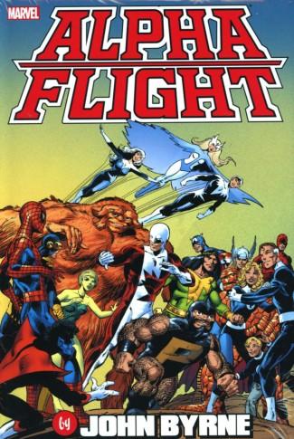ALPHA FLIGHT BY JOHN BYRNE OMNIBUS HARDCOVER