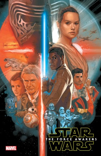 STAR WARS THE FORCE AWAKENS ADAPTATION HARDCOVER