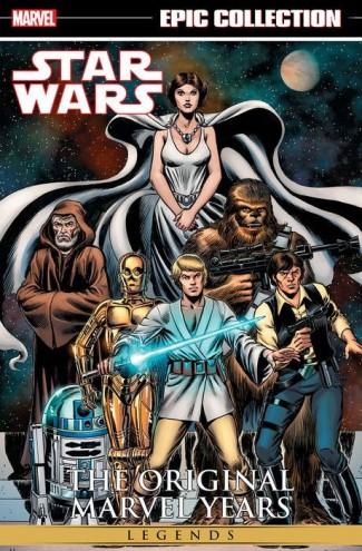 STAR WARS LEGENDS EPIC COLLECTION ORIGINAL MARVEL YEARS VOLUME 1 GRAPHIC NOVEL