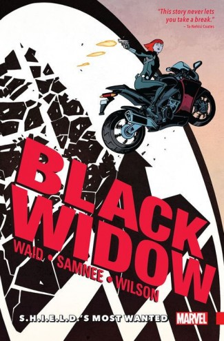 BLACK WIDOW VOLUME 1 SHIELDS MOST WANTED GRAPHIC NOVEL