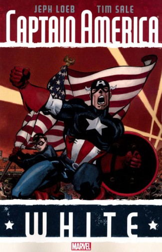 CAPTAIN AMERICA WHITE GRAPHIC NOVEL