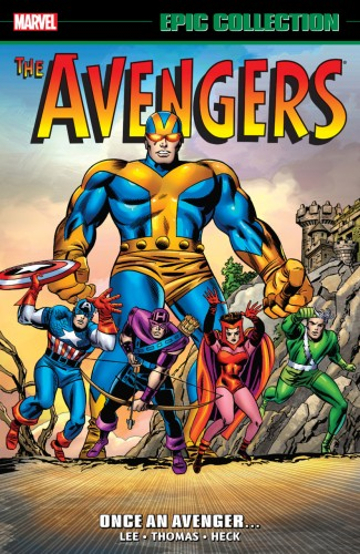 AVENGERS EPIC COLLECTION ONCE AN AVENGER GRAPHIC NOVEL