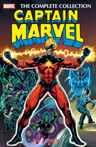 CAPTAIN MARVEL BY JIM STARLIN COMPLETE COLLECTION GRAPHIC NOVEL