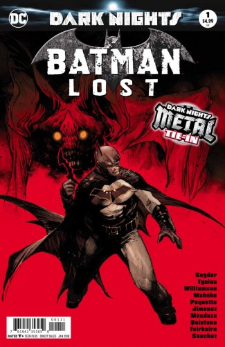 BATMAN LOST #1 FOIL COVER