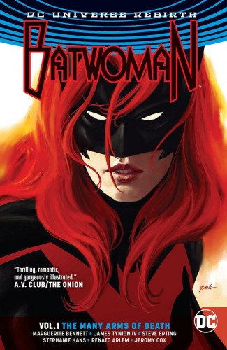 BATWOMAN VOLUME 1 THE MANY ARMS OF DEATH GRAPHIC NOVEL