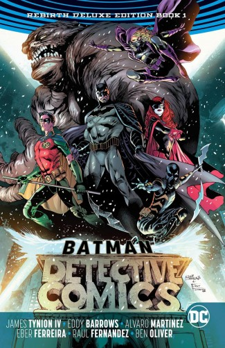 BATMAN DETECTIVE COMICS REBIRTH DELUXE COLLECTION BOOK 1 HARDCOVER