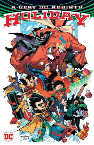 A VERY DC UNIVERSE REBIRTH HOLIDAY GRAPHIC NOVEL