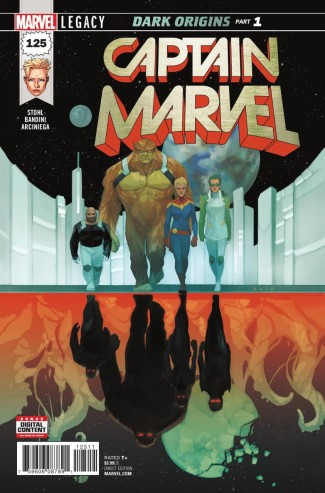 CAPTAIN MARVEL #125 (2017 SERIES) LEGACY