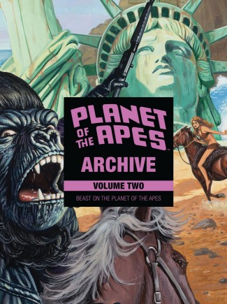 PLANET OF THE APES ARCHIVE VOLUME 2 BEAST ON THE PLANET OF THE APES HARDCOVER