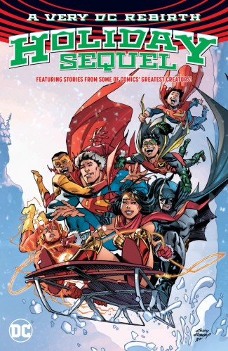 A VERY DC REBIRTH HOLIDAY SEQUEL GRAPHIC NOVEL