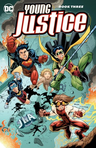 YOUNG JUSTICE BOOK 3 GRAPHIC NOVEL