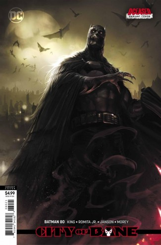 BATMAN #80 (2016 SERIES) CARD STOCK VARIANT