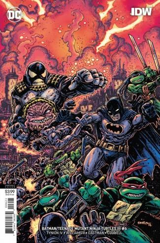 BATMAN TEENAGE MUTANT NINJA TURTLES III #6 VARIANT
