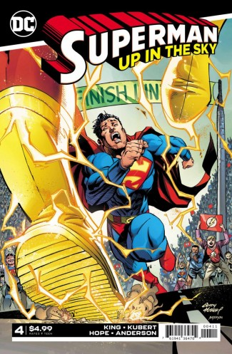 SUPERMAN UP IN THE SKY #4