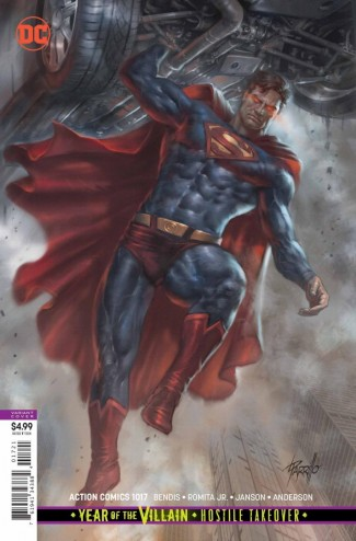 ACTION COMICS #1017 (2016 SERIES) CARD STOCK VARIANT