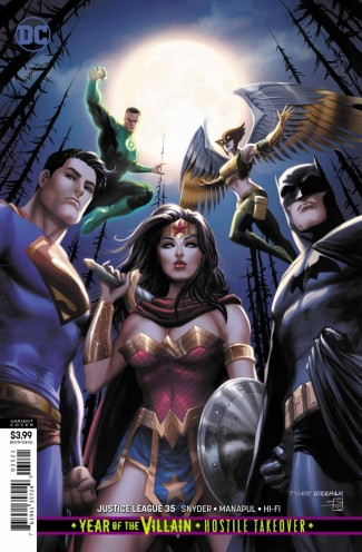 JUSTICE LEAGUE #35 (2018 SERIES) VARIANT