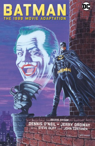 BATMAN THE 1989 MOVIE ADAPTATION DELUXE EDITION HARDCOVER