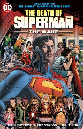 DEATH OF SUPERMAN THE WAKE GRAPHIC NOVEL