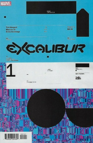 EXCALIBUR #1 (2019 SERIES) MULLER DESIGN 1 IN 10 INCENTIVE VARIANT