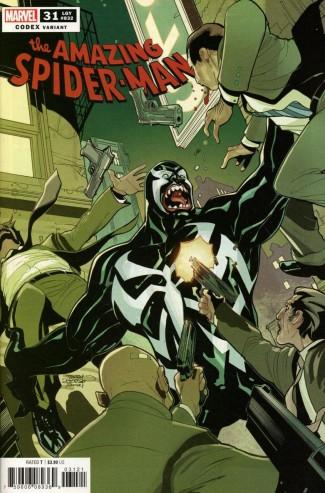 AMAZING SPIDER-MAN #31 DODSON CODEX 1 IN 25 INCENTIVE VARIANT