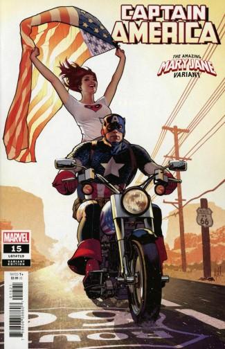 CAPTAIN AMERICA #15 (2018 SERIES) HUGHES MARY JANE VARIANT