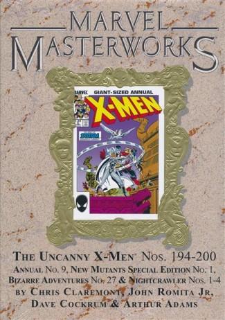 MARVEL MASTERWORKS UNCANNY X-MEN VOLUME 12 DM VARIANT #287 EDITION HARDCOVER