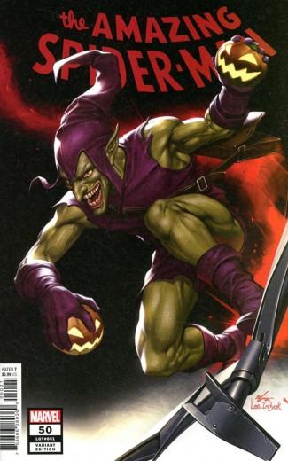 AMAZING SPIDER-MAN #50 (2018 SERIES) INHYUK LEE 1 IN 25 INCENTIVE VARIANT
