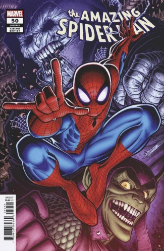 AMAZING SPIDER-MAN #50 (2018 SERIES) ADAMS VARIANT