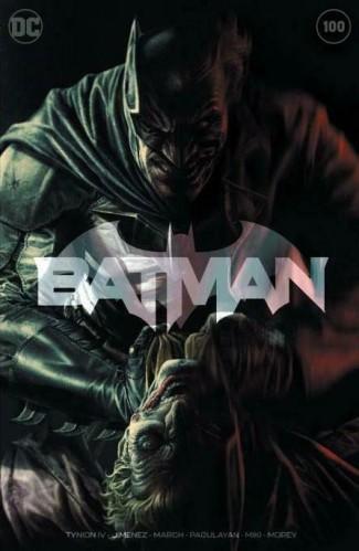 BATMAN #100 (2016 SERIES) LEE BERMEJO EXCLUSIVE SHARED RETAILER TEAM VARIANT