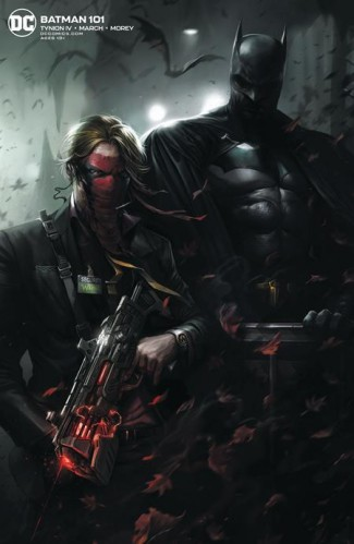 BATMAN #101 (2016 SERIES) JOKER WAR TIE-IN FRANCESCO MATTINA CARD STOCK VARIANT