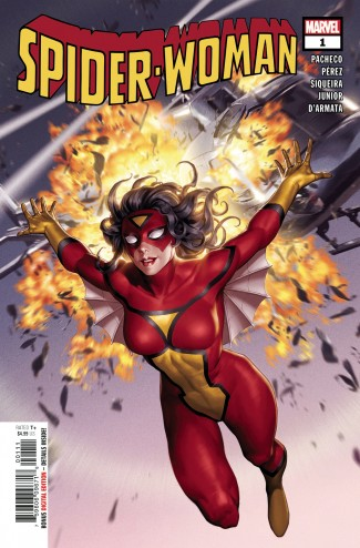 SPIDER-WOMAN #1 (2020 SERIES) YOON CLASSIC COVER