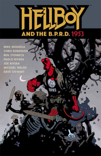 HELLBOY AND THE BPRD 1953 GRAPHIC NOVEL