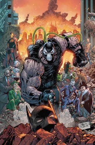 BATMAN VOLUME 12 CITY OF BANE PART ONE HARDCOVER