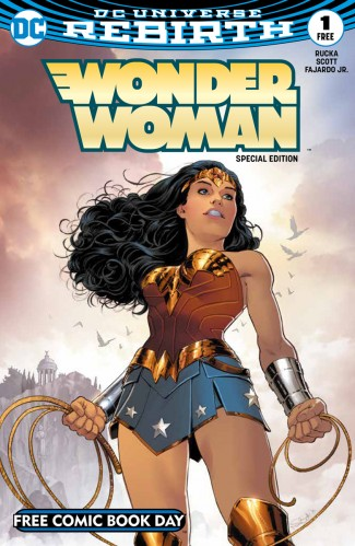 FCBD 2017 WONDER WOMAN #1 SPECIAL EDITION
