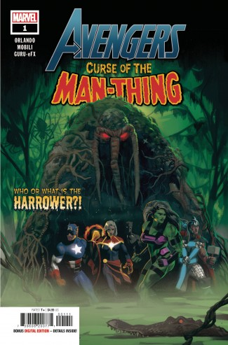 AVENGERS CURSE OF THE MAN-THING #1