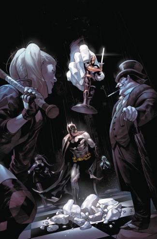 BATMAN VOLUME 1 THEIR DARK DESIGNS HARDCOVER