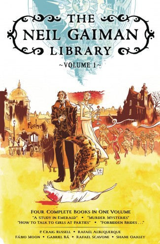 NEIL GAIMAN LIBRARY EDITION HARDCOVER