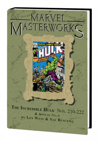 MARVEL MASTERWORKS INCREDIBLE HULK VOLUME 13 DM VARIANT #279 EDITION HARDCOVER